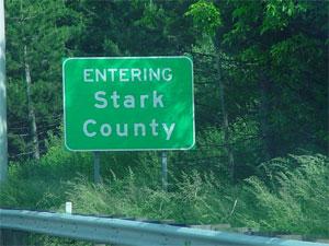 Stark County sign. (Credit: starkcountyohio.net)