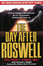 The Day After Roswell book cover.