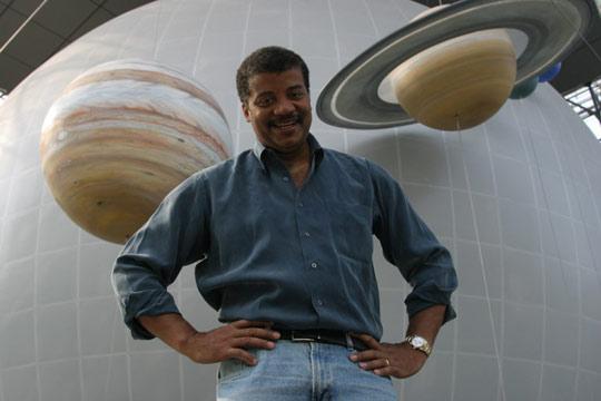 Astrophysicist Neil Degrasse Tyson