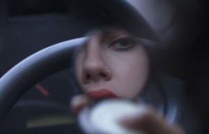 Scarlett Johansson's alien character preparing to seduce men. (Credit: FilmNation)