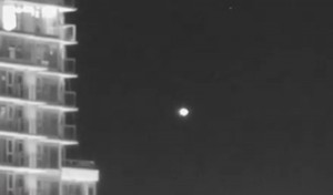 UFO captured on video in Vancouver. (Credit: Charles Lamoureux)