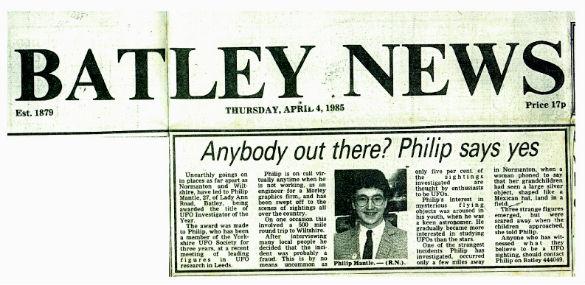 wb BATLEY NEWS with Phil April 4 1985