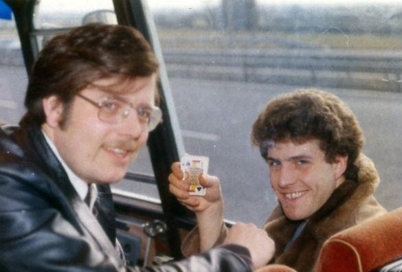 Graham and Mark Birdsall (Credit: Philip Mantle)